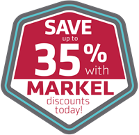 Save up to 35% with Markel discounts