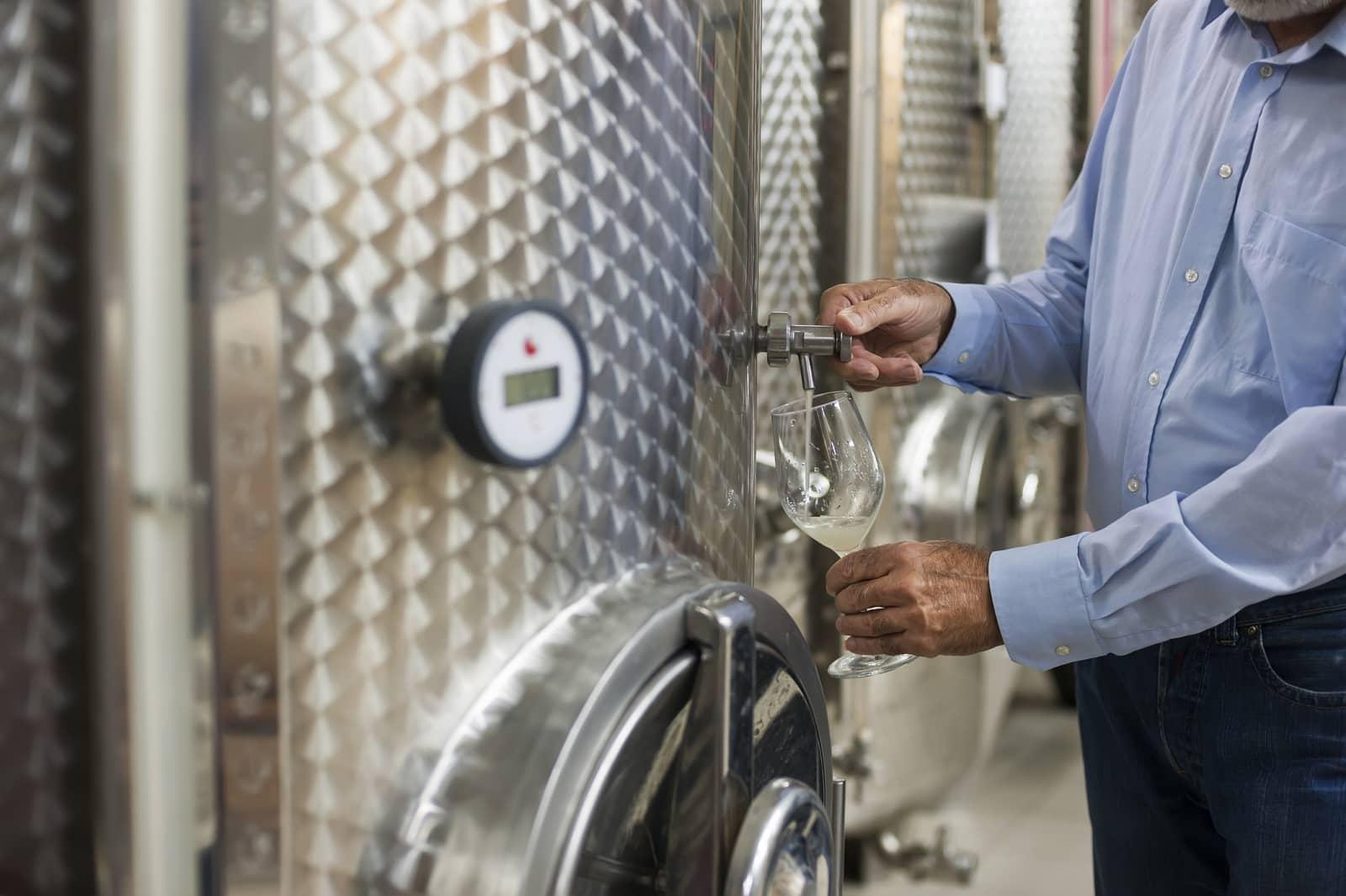 Senior wine maker