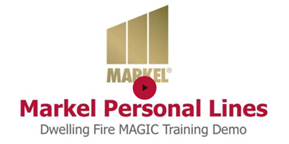 Markel Dwelling Fire Magic Demo